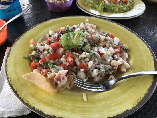 Playa Palancar : Really good mixed ceviche