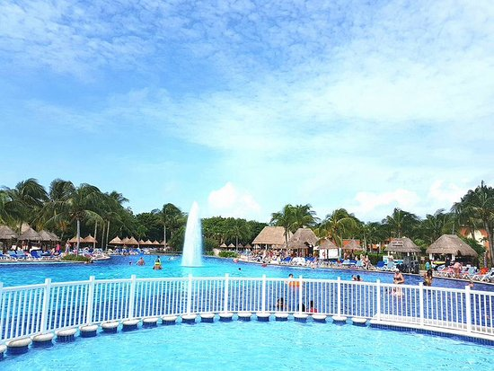 Main Pool Picture Of Grand Bahia Principe Coba Akumal Tripadvisor