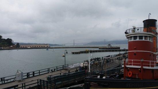 Eureka Steam Ferry: Bridge