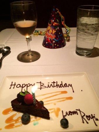 Roy's Waikiki Beach: Happy birthday - it was. Very!