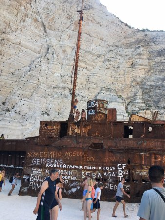 Navagio Beach Shipwreck The From Descendants Of Sun