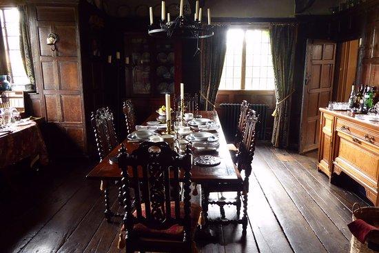 Littledean, UK: 1400s dining room