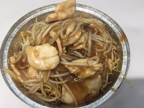 Lancashire, UK: Chicken Chow Mein
