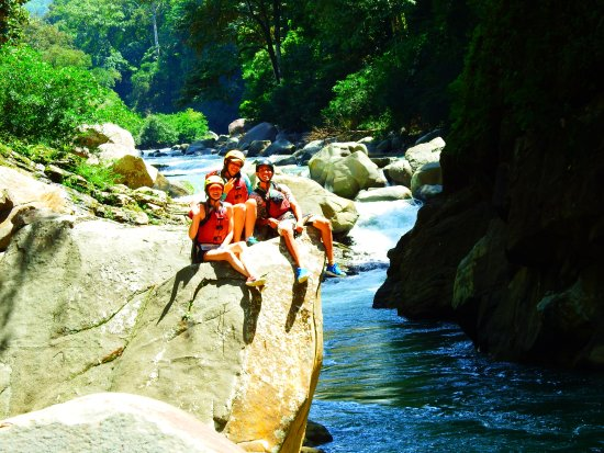 Dominical, Costa Rica: Concurring my fear of heights!