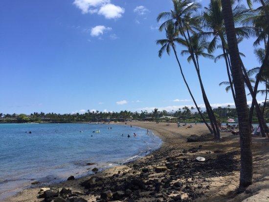 Waikoloa, HI: View of A Bay looking north