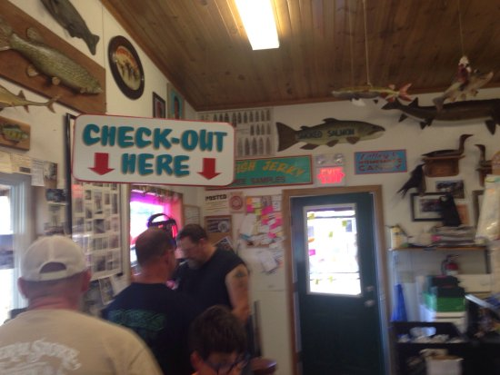 Prairie du Chien, WI: Valley Fish & Cheese.  A must stop if you like smoked and jerked fish, turtle and more!