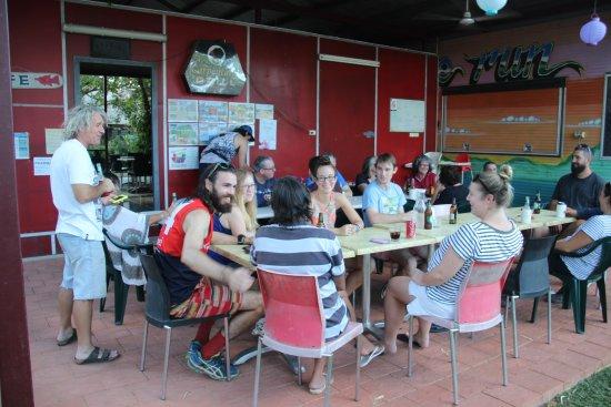 Borroloola, Australia: Large Party for Dinner