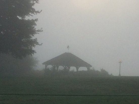 Young Harris, GA: Gazebo in the mist