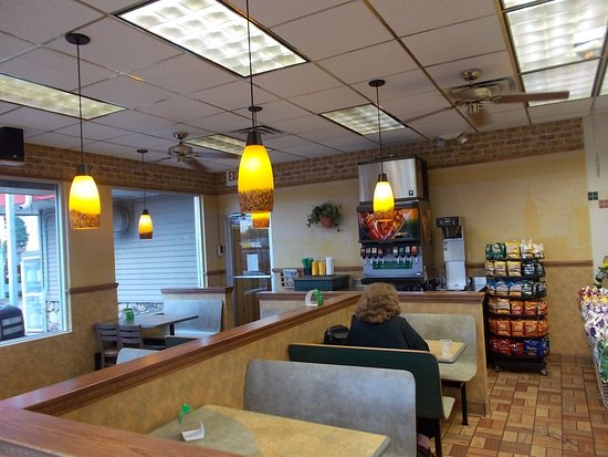 Subway Sandwich Shop, Turtle Lake, Wisconsin.
