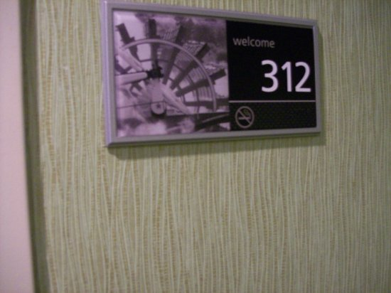 Anderson, SC: Room 312 Signage