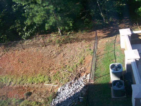 Anderson, SC: Room 312, the View from the Room and the Outdoor Pool area near.