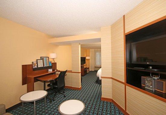 Aiken, Karolina Południowa: Suite Living Area
