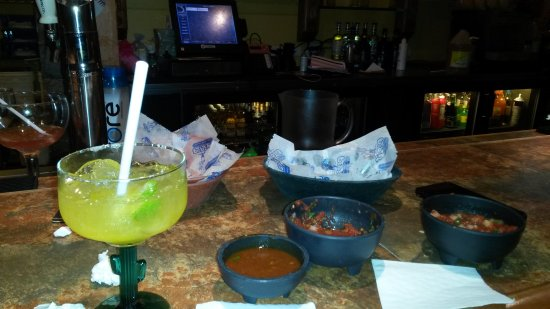 Pepe's Mexican Restaurant: Half priced margaritas on Tues + Thursdays!  Enjoyed the buffet and great bartender @Romeoville