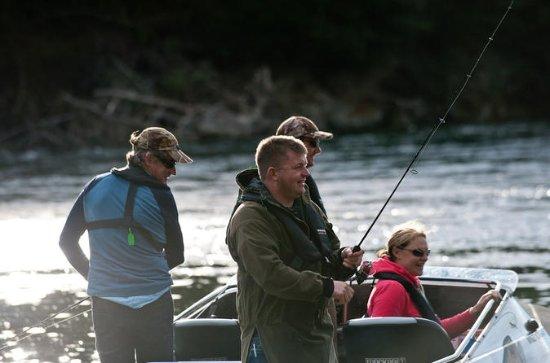 Full-Day Jet Boat Fishing in Fiordland