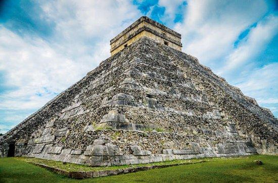 Chichén Itzá, cenote y Valladolid en...