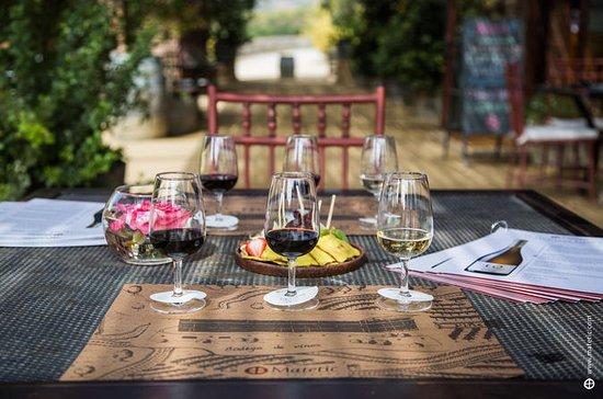 Vintur och lunch på ekologisk vingård ...