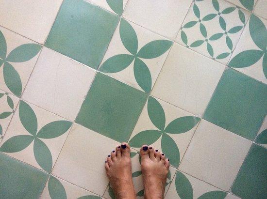 The Open House: Cool floor tiles!