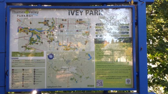 Ivey Park Downtown London Ontario Right downtown Picture of