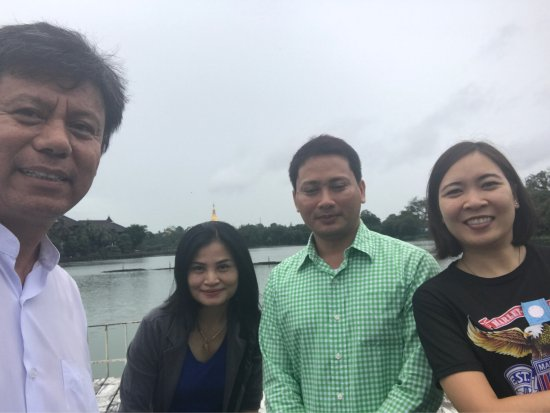 Green Golden Land: With Thai land guest.