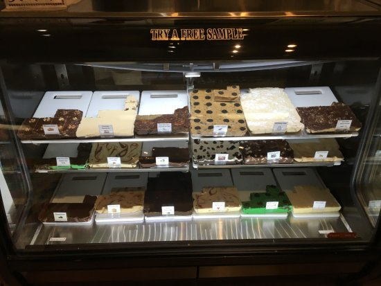 Bumbleberry Gift Shop: We sell homemade fudge in a variety of fun flavors!