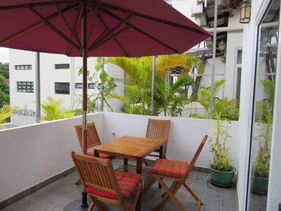 The Little Garden Boutique Hotel: Balcony