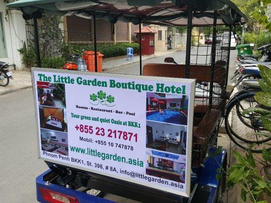 The Little Garden Boutique Hotel: Hotel Tuk Tuk