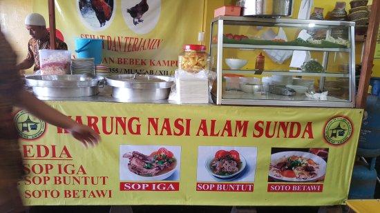Warung Nasi Alam Sunda Khas Cianjur Picture