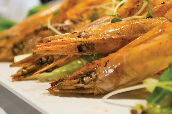 Truffles Bar & Ristorante: Lagostino - Larged sized European Shrimps