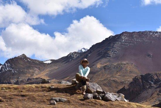 Salkantay Trekking: Ausangate de fondo