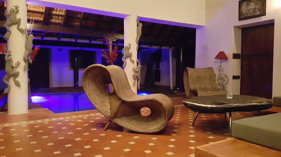Little Siolim: Living Area
