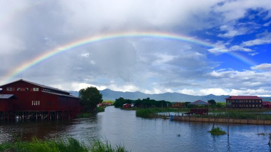 Weaver's Boutique Homestay at Inle Lake: Lake View