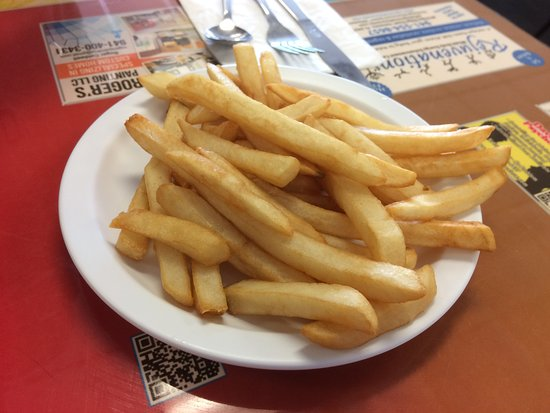 Tasty Home Cookin: Nothing special fries