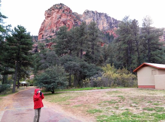 Slide Rock State Park near the entrance