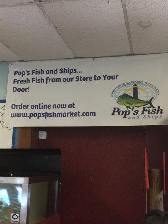 Pop 39 s fish market deerfield beach fotos n mero de for Pops fish market