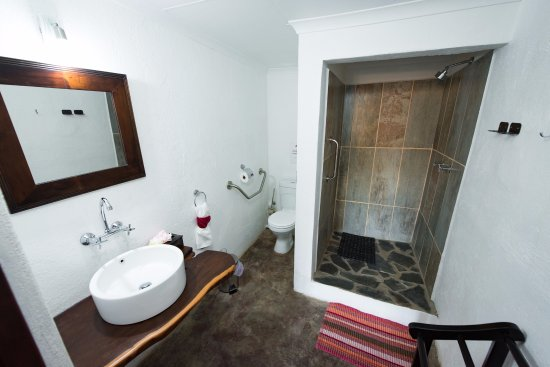 Balule Nature Reserve, Sudáfrica: the bathroom  of our family room is wheelchair friendly