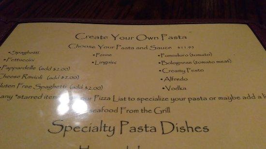 North Wilkesboro, Carolina del Norte: Create your own pasta.