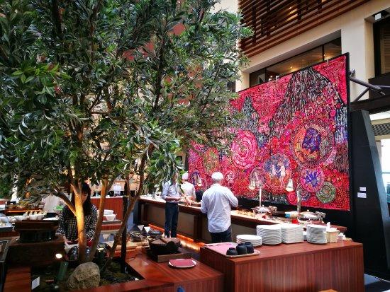 Park Hotel Tokyo: hotel cafe