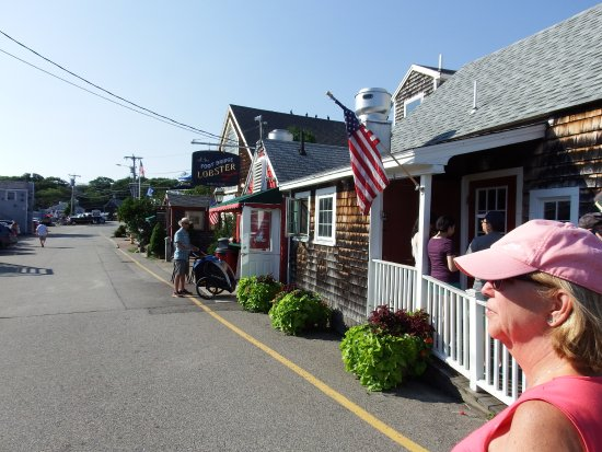 The Ogunquit Trolley: sorry no picture of the trolley, guess why not?