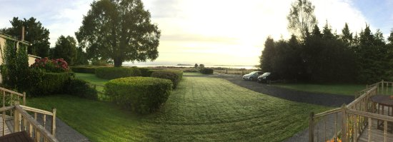 Oughterard, Ιρλανδία: View from veranda