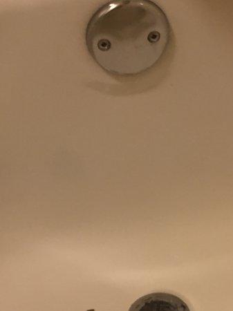 Red Roof PLUS+ San Francisco Airport: Broken bathroom fixtures. Broken latch on the door.