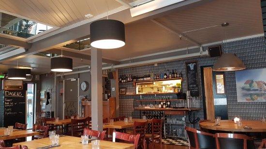 offene küche - picture of bardus bistro & bar, tromso - tripadvisor - Bar Für Küche