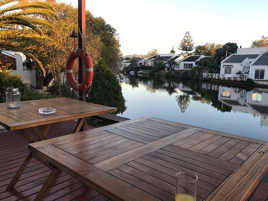 Admiralty Bed & Breakfast: View from the deck