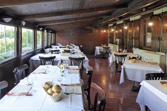 Cremeno, อิตาลี: La sala belvedere