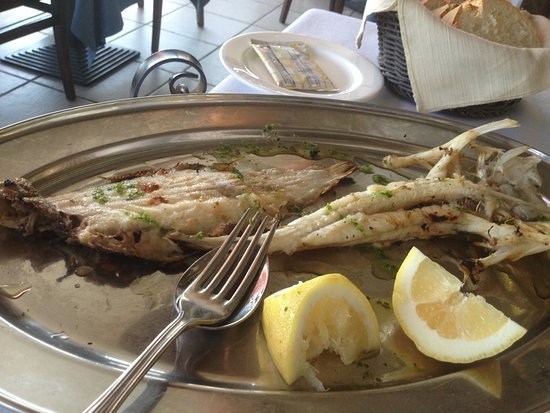 Ristorante lo Scoglio: grogliata pesce