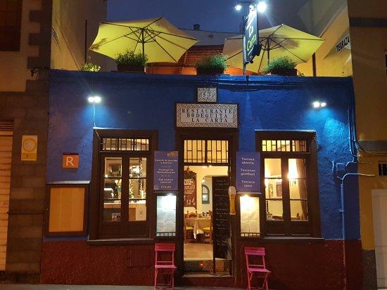 Restaurante La Carta: Fachada del Restaurante