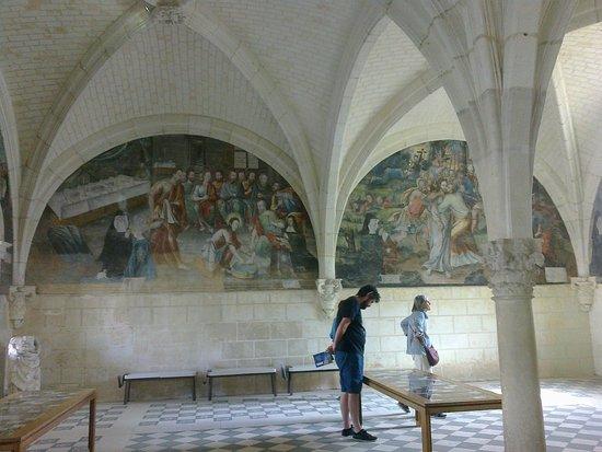 Fontevraud-l'Abbaye, Γαλλία: Kapitelsaal wird heute für Veranstaltungen genutzt