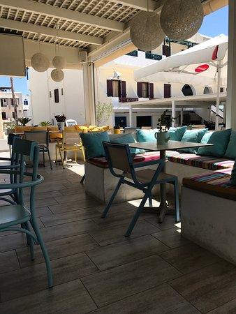 Agios Prokopios, Griekenland: Kavourakia Restaurant
