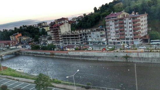 Hopa, Türkiye: terastan goruntu 2