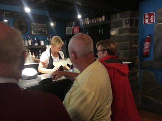 Lesaka, Spain: Le bar
