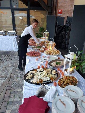 il buffet per qualsiasi evento